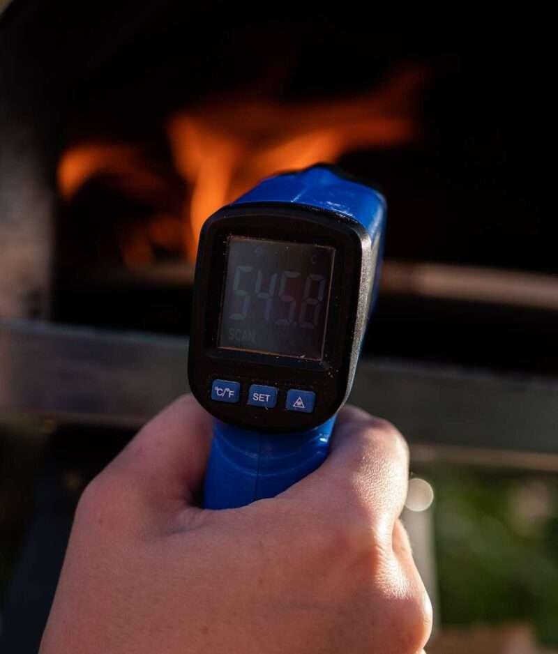 Bilde av beste ir termomtert for pizzaovn og bakerovn