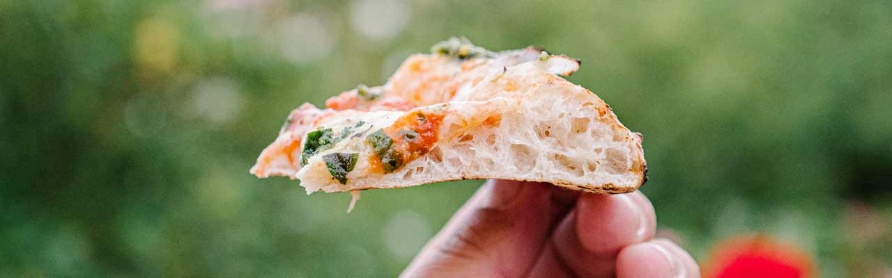 Verdens beste pizza på caputo mel fra Gruue