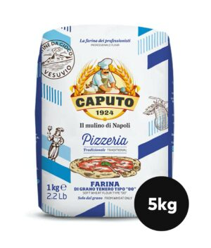 Beste pizzamel i big bag 5kg Caputo Pizzeria fra Gruue billigst mel