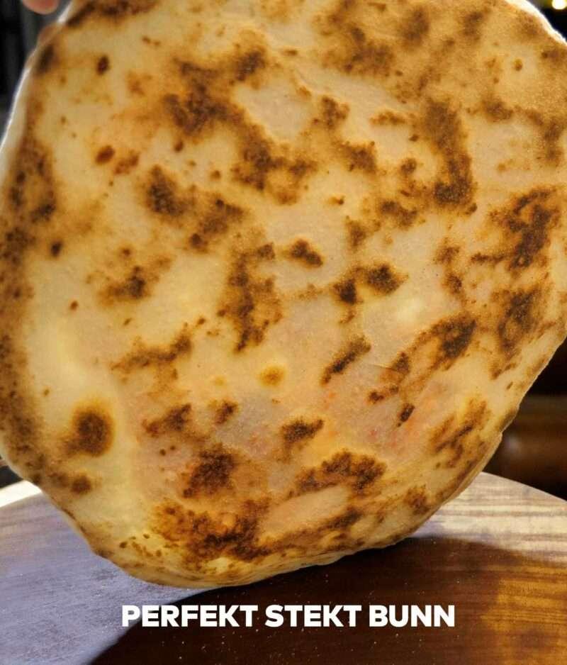 Perfekt stekt pizza med pizzastål bedre enn pizzatein
