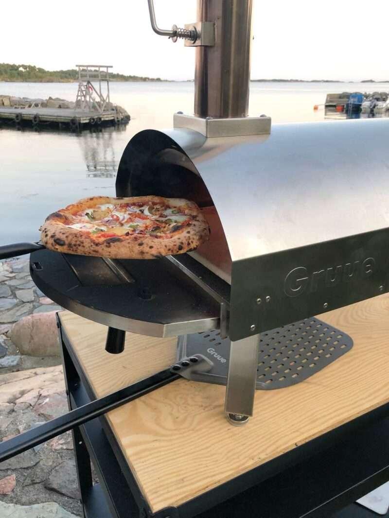 Beste vedfyrte pizzaovn gruue pizzaboks 500c pizzaovn ute