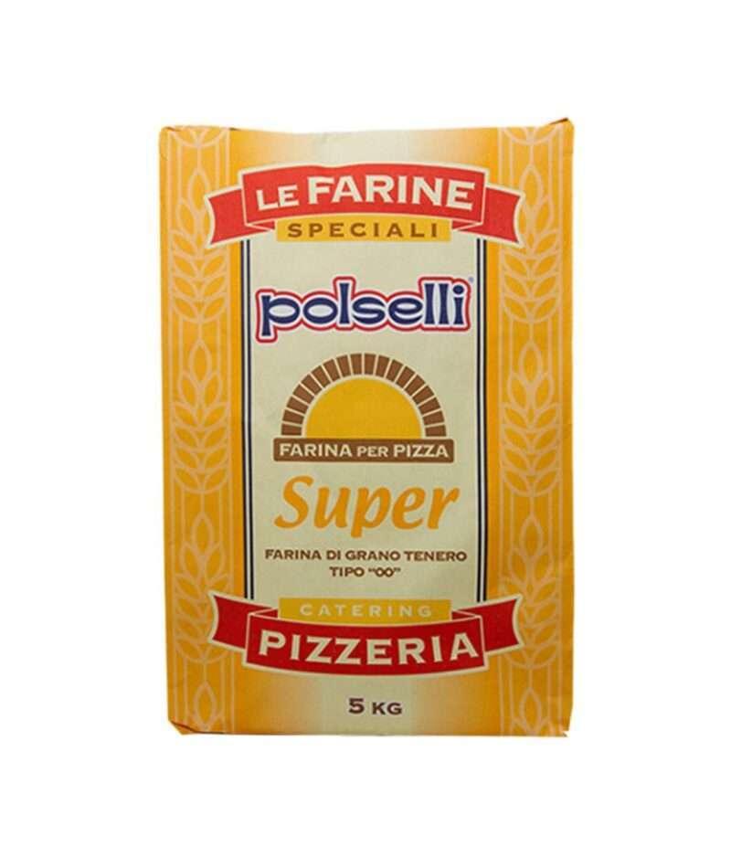 Polselli Super Pizzamel til hangheving biga og poolish
